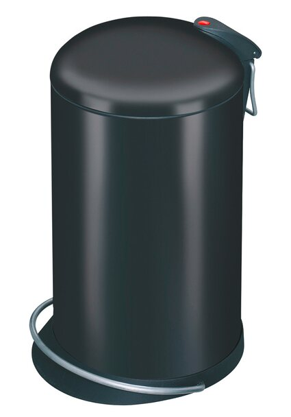 Hailo Tret-Mülleimer Trento Topdesign 16 l schwarz