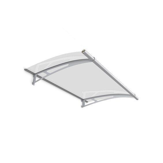 pultbogenvordach lt line xl 2050 edelstahl v4a klar 25 x 205 x 142 cm kaufen bei obi. Black Bedroom Furniture Sets. Home Design Ideas