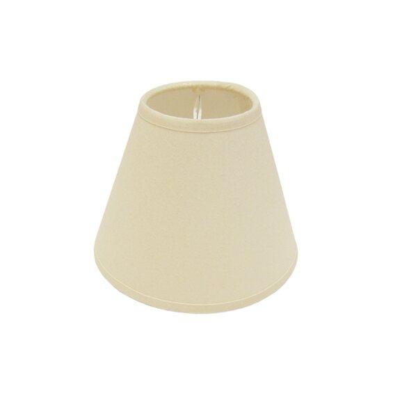 aufsteck lampenschirm cotton 14 cm creme kaufen bei obi. Black Bedroom Furniture Sets. Home Design Ideas