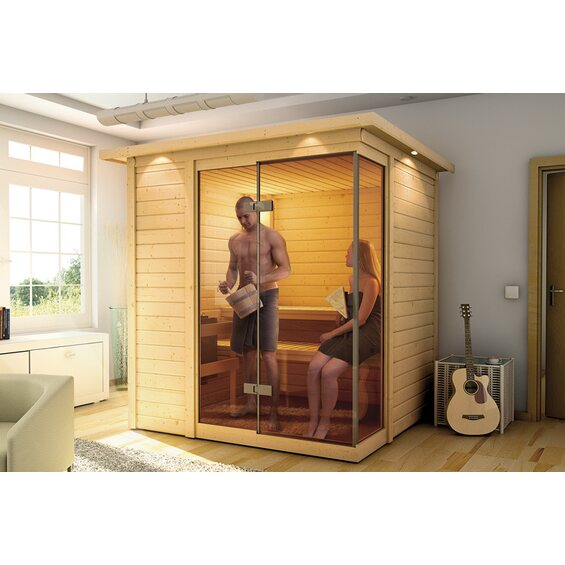 sauna platina im obi online shop. Black Bedroom Furniture Sets. Home Design Ideas