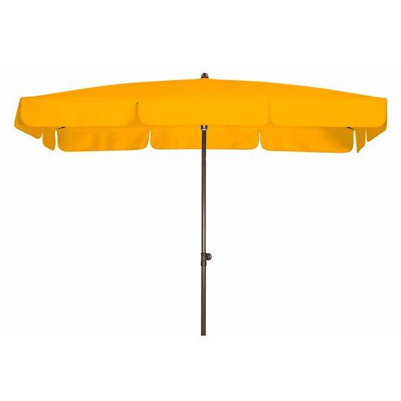 doppler sonnenschirm sunline iii waterproof rechteckig 185 x 120 cm gelb im obi online shop. Black Bedroom Furniture Sets. Home Design Ideas