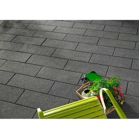 terrassenplatte denver anthrazit wassergestrahlt 60 cm x 25 cm x 5 cm im obi online shop. Black Bedroom Furniture Sets. Home Design Ideas