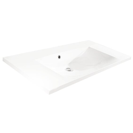 fackelmann waschbecken 90 cm vadea wei kaufen bei obi. Black Bedroom Furniture Sets. Home Design Ideas