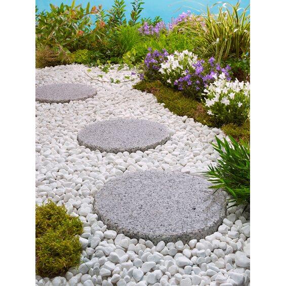 granit trittstein hellgrau durchmesser 25 cm kaufen bei obi. Black Bedroom Furniture Sets. Home Design Ideas