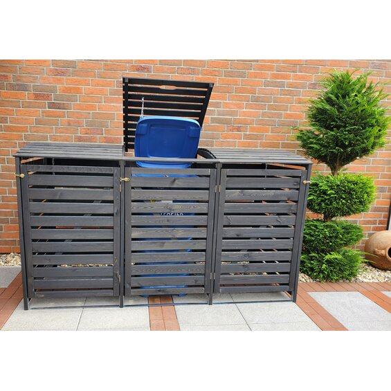 m lltonnenbox vario iii f r 3 tonnen anthrazit kaufen bei obi. Black Bedroom Furniture Sets. Home Design Ideas