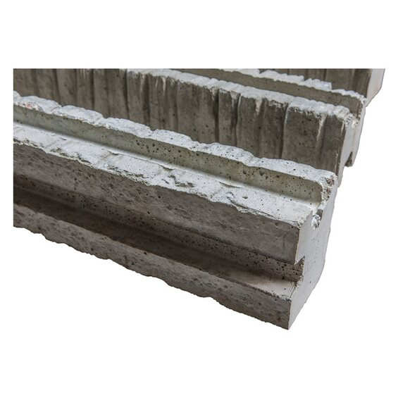 betonzaun eckpfosten klassik stein 245 cm im obi online shop. Black Bedroom Furniture Sets. Home Design Ideas
