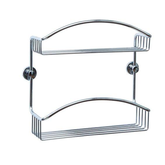 nie wieder bohren duschkorb draad dk230 messing verchromt im obi online shop. Black Bedroom Furniture Sets. Home Design Ideas