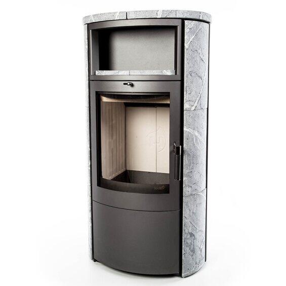 hark kaminofen fabio ecoplus naturstein im obi online shop. Black Bedroom Furniture Sets. Home Design Ideas