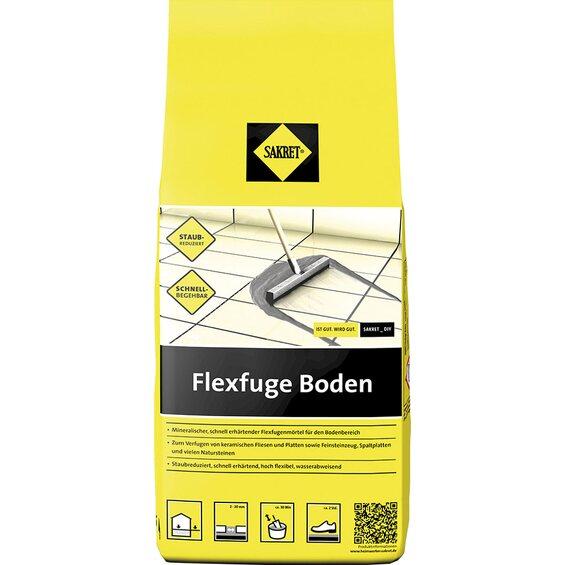 sakret flexfuge boden mittelgrau 5 kg im obi online shop. Black Bedroom Furniture Sets. Home Design Ideas