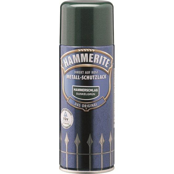 hammerite metall schutzlack spray dunkelgr n hammerschlag. Black Bedroom Furniture Sets. Home Design Ideas