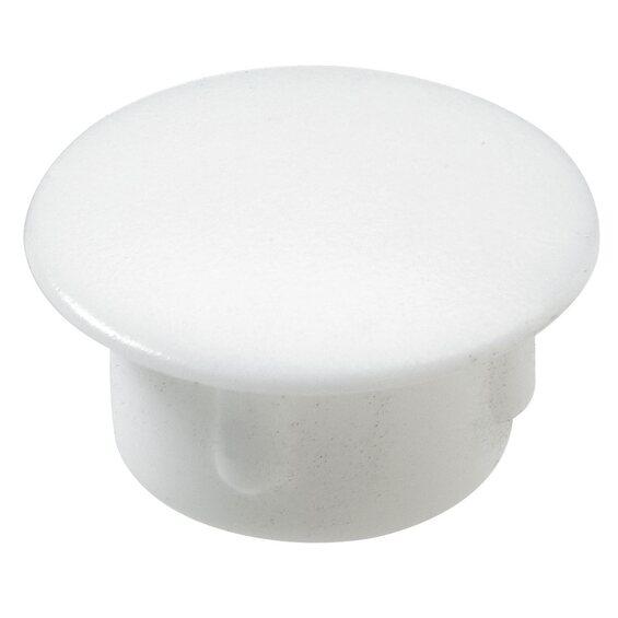 hettich abdeckkappe 10 mm kunststoff wei im obi online shop. Black Bedroom Furniture Sets. Home Design Ideas