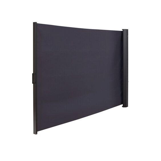 obi vertikal markise livingston anthrazit mit pfosten 300. Black Bedroom Furniture Sets. Home Design Ideas