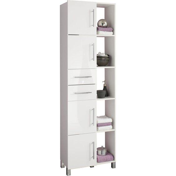 kesper multifunktionsschrank wei hochgl nzend im obi online shop. Black Bedroom Furniture Sets. Home Design Ideas