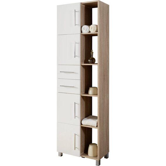 kesper multifunktionsschrank eiche wei im obi online shop. Black Bedroom Furniture Sets. Home Design Ideas