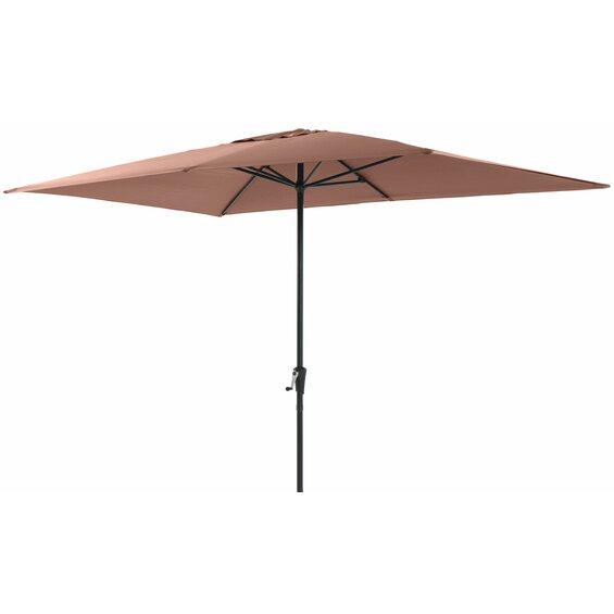 obi sonnenschirm honolulu eckig mokka 300 cm x 200 cm im obi online shop. Black Bedroom Furniture Sets. Home Design Ideas