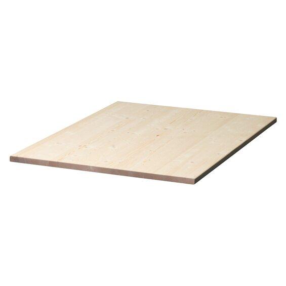tischplatte fichte 180 cm x 80 cm x 2 8 cm kaufen bei obi. Black Bedroom Furniture Sets. Home Design Ideas