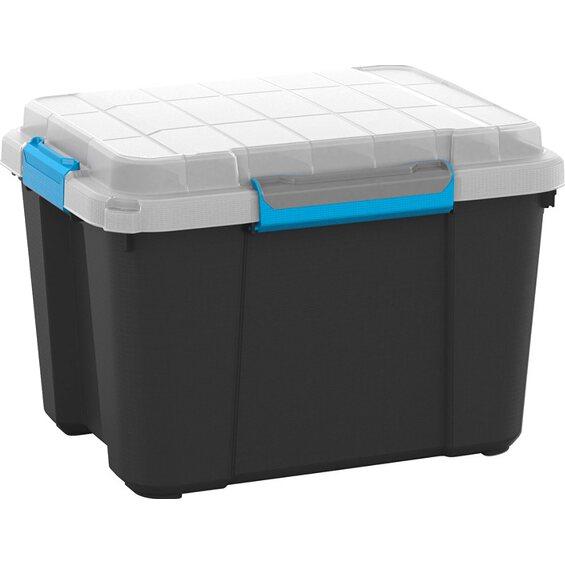 mehrzweckbox scuba mit deckel m 45 l schwarz im obi online shop. Black Bedroom Furniture Sets. Home Design Ideas