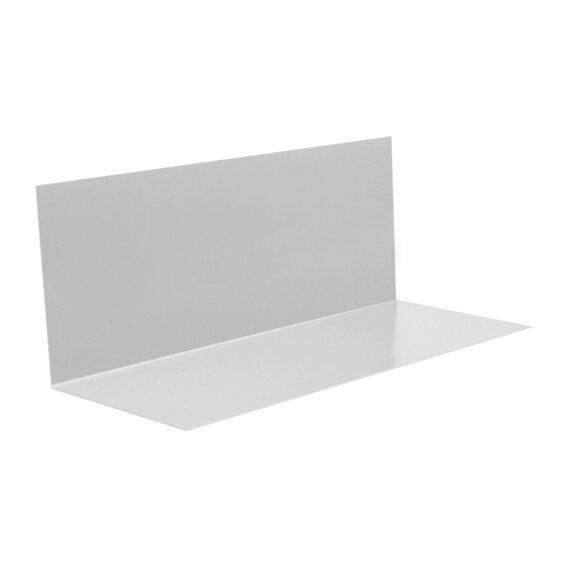 winkelblech ohne wasserfalz zuschnitt 250 mm x 1000 mm alu. Black Bedroom Furniture Sets. Home Design Ideas