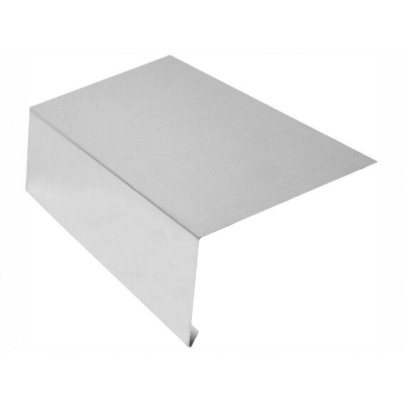 rinneneinhang ohne wasserfalz zuschnitt 250 mm x 1000 mm alu kaufen bei obi. Black Bedroom Furniture Sets. Home Design Ideas