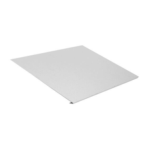 traufstreifen ohne wasserfalz zuschnitt 250 mm x 1000 mm alu kaufen bei obi. Black Bedroom Furniture Sets. Home Design Ideas
