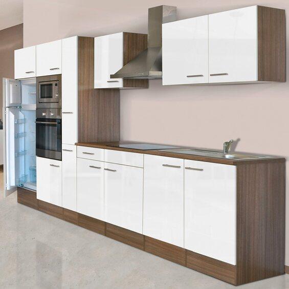 respekta k chenzeile kb360eywmigke 360 cm wei eiche york nachbildung im obi online shop. Black Bedroom Furniture Sets. Home Design Ideas