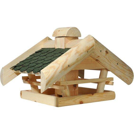 dobar vogelhaus mit futtersilo im obi online shop. Black Bedroom Furniture Sets. Home Design Ideas