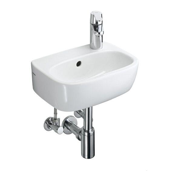obi handwaschbecken komplett set alegro 36 cm im obi online shop. Black Bedroom Furniture Sets. Home Design Ideas