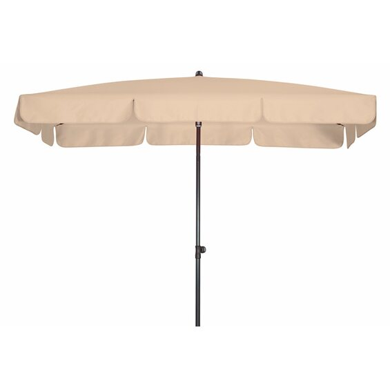 doppler sonnenschirm sunline iii waterproof rechteckig 225 x 120 cm natur im obi online shop. Black Bedroom Furniture Sets. Home Design Ideas