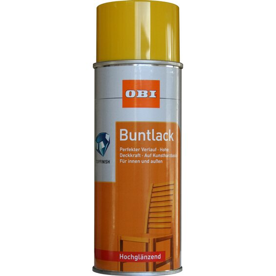 obi buntlack spray rapsgelb hochgl nzend 400 ml im obi online shop. Black Bedroom Furniture Sets. Home Design Ideas