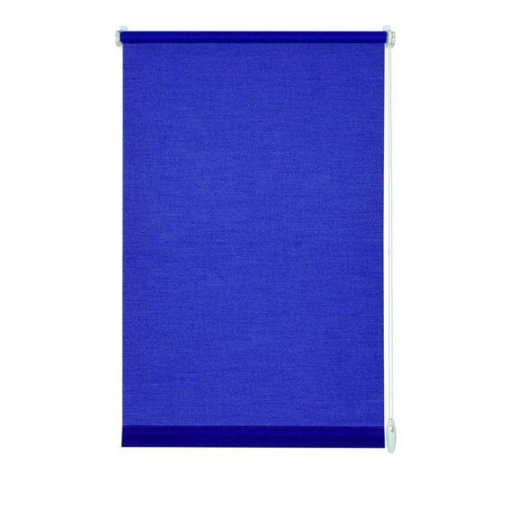gardinia easyfix rollo 75 cm x 150 cm dunkelblau im obi online shop. Black Bedroom Furniture Sets. Home Design Ideas