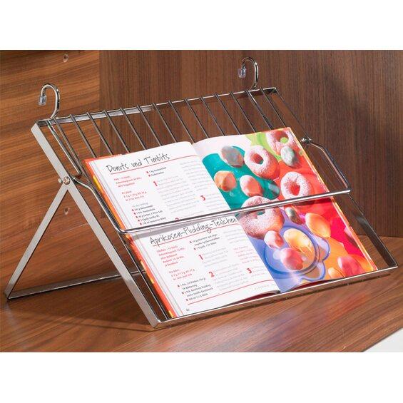 hettich kochbuchhalter f r relingsystem im obi online shop. Black Bedroom Furniture Sets. Home Design Ideas