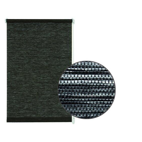 gardinia easyfix rollo natur 75 cm x 150 cm black white im obi online shop. Black Bedroom Furniture Sets. Home Design Ideas