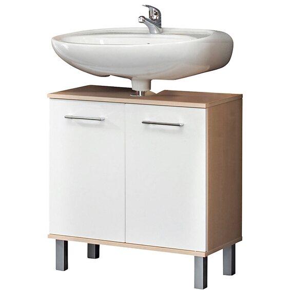 kesper waschbeckenunterschrank prato mit 2 t ren wei im obi online shop. Black Bedroom Furniture Sets. Home Design Ideas