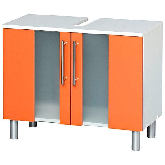 kesper waschbeckenunterschrank trento mit 2 t ren orange im obi online shop. Black Bedroom Furniture Sets. Home Design Ideas