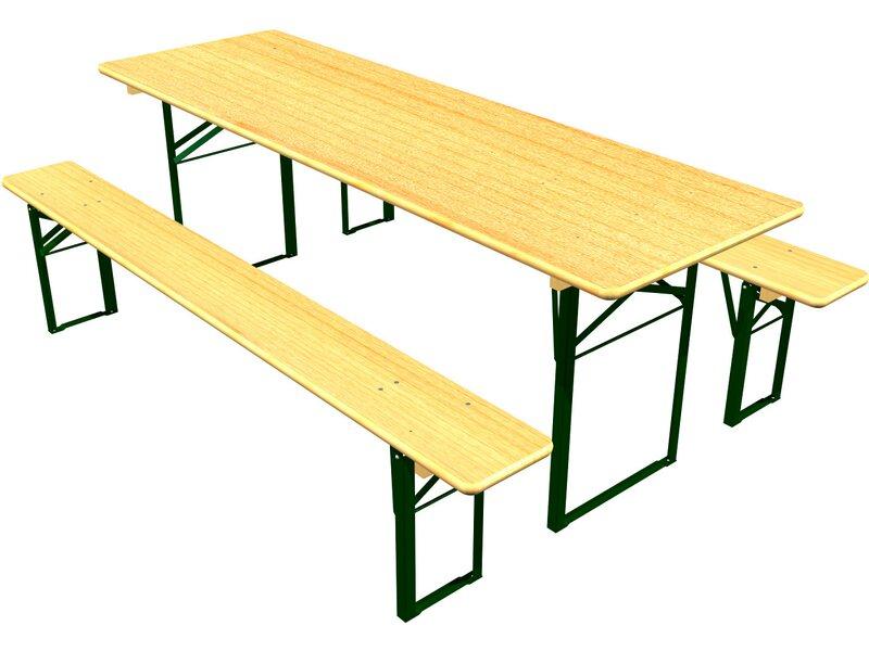 bierzeltgarnitur mit 70 cm breitem tisch kaufen bei obi. Black Bedroom Furniture Sets. Home Design Ideas