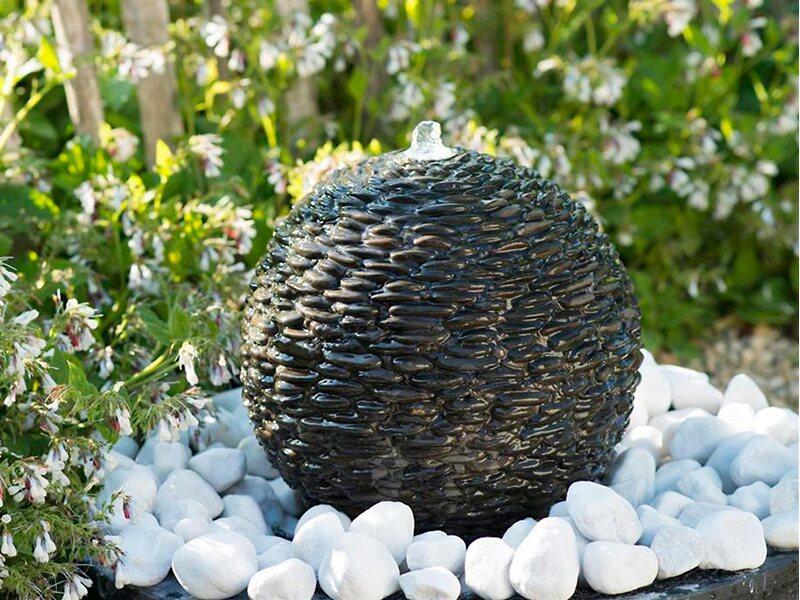 Acquaarte gartenbrunnen set selva 34 cm led kaufen bei obi for Garten pool hagebau