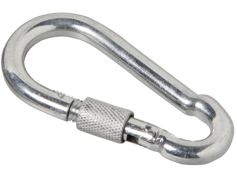 lux schraub karabinerhaken 10 mm x 100 mm kaufen bei obi. Black Bedroom Furniture Sets. Home Design Ideas