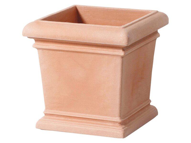 vasar pflanzk bel val d aosta 47 cm terracotta kaufen bei obi. Black Bedroom Furniture Sets. Home Design Ideas