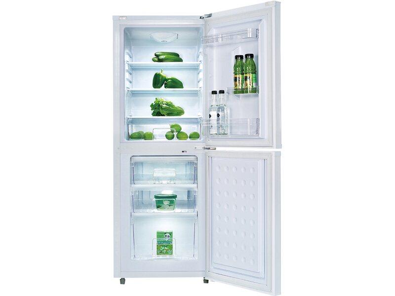 Retro Kühlschrank Pkm : Pkm kühlgefrierkombination kg weiß eek a kaufen bei obi