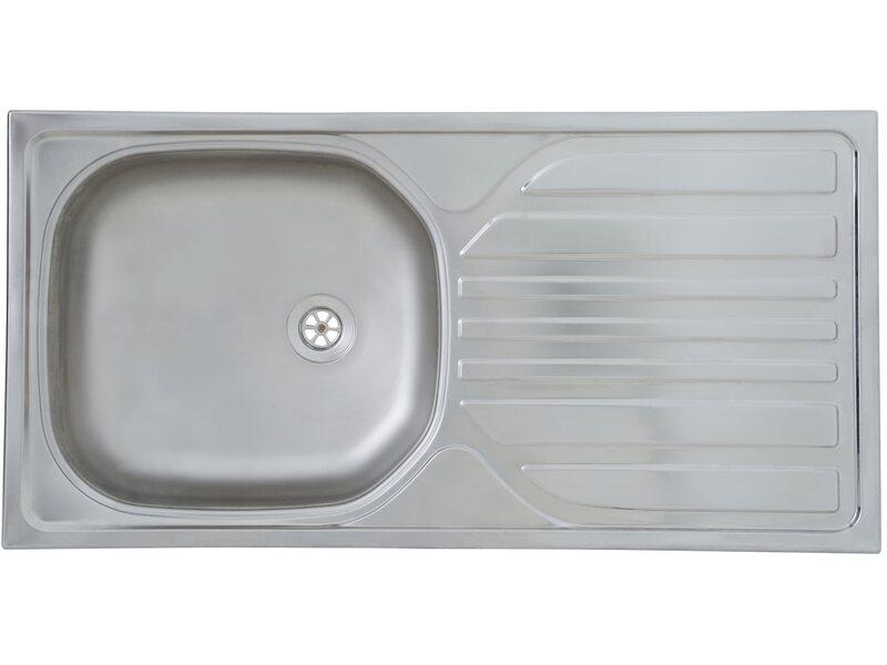 Respekta Küchenzeile KB150BR 150 Cm Rot Buche Nachbildung Kaufen Bei OBI