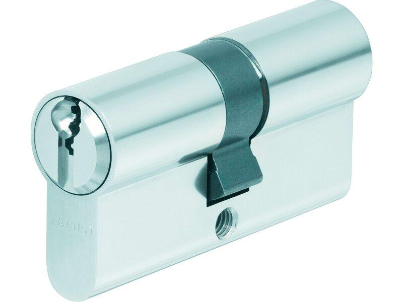 mit Sicherungskarte mit 6 Schl/üssel ABUS EC660 Profil-Doppelzylinder L/änge 50//50mm c=100mm a//b