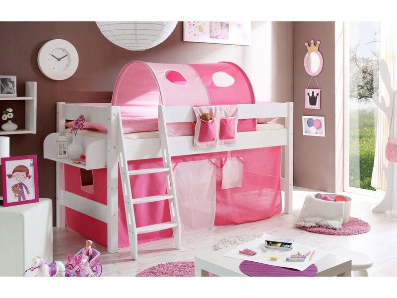 Etagenbett Obi : Hochbett kenny kiefer rosa pink kaufen bei obi