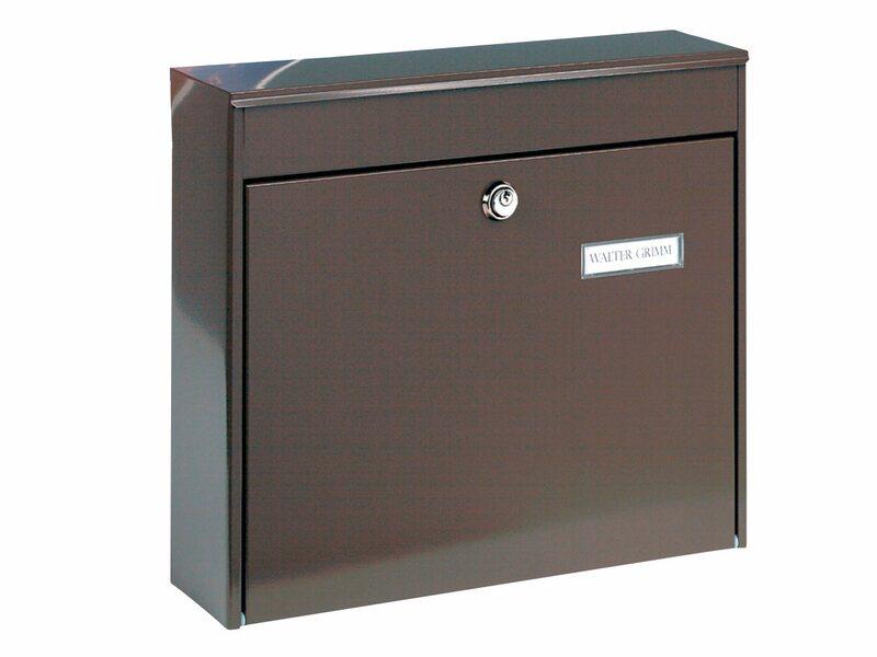 burg w chter zaun briefkasten potsdam 878 braun kaufen bei obi. Black Bedroom Furniture Sets. Home Design Ideas