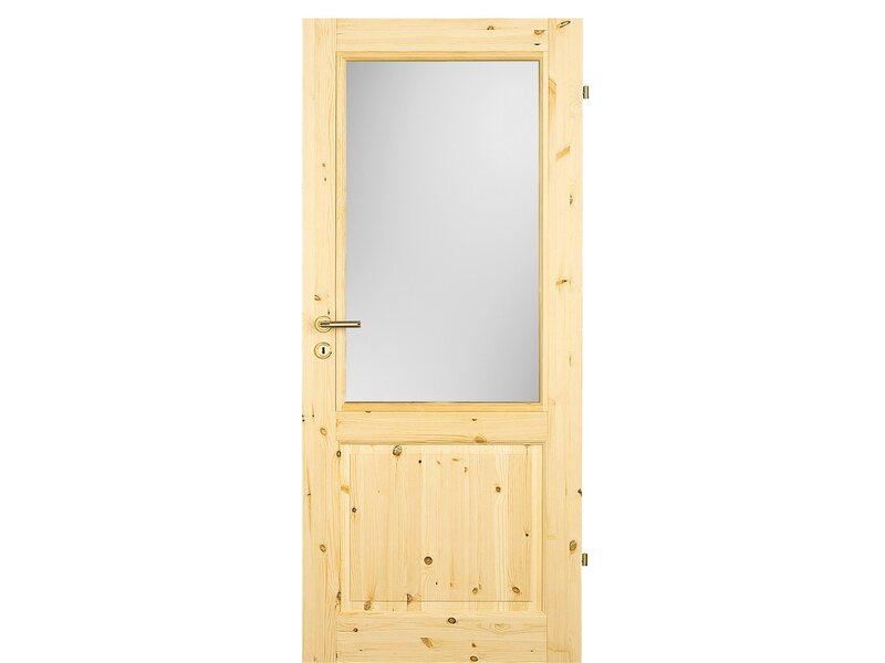 zimmert r landhaus kiefer la 98 5 cm x 198 5 cm anschlag rechts kaufen bei obi. Black Bedroom Furniture Sets. Home Design Ideas