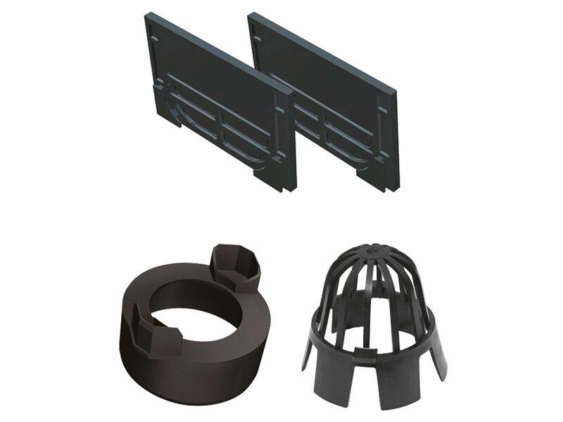 aco hexaline 2 0 zubeh rset schwarz kaufen bei obi. Black Bedroom Furniture Sets. Home Design Ideas