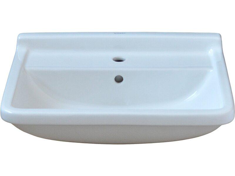 Duravit Waschbecken 60 cm Starck 3 Weiß kaufen bei OBI