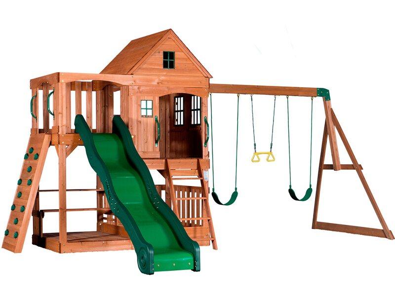 Klettergerüst Rutsche Schaukel : Spieltürme & spielanlagen online kaufen bei obi