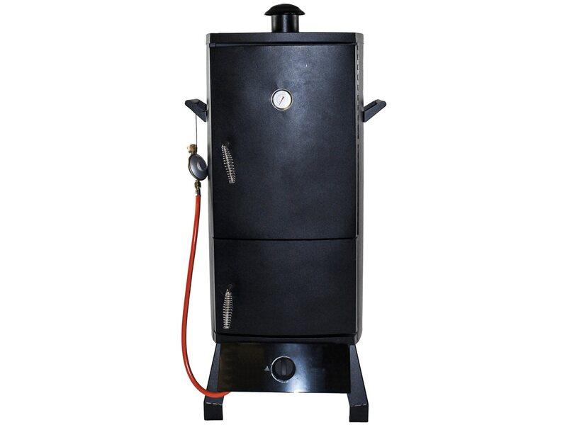 Outdoorküche Gasgrill Xxl : El fuego gasgrill smoker portland mit 1 brenner schwarz kaufen bei obi
