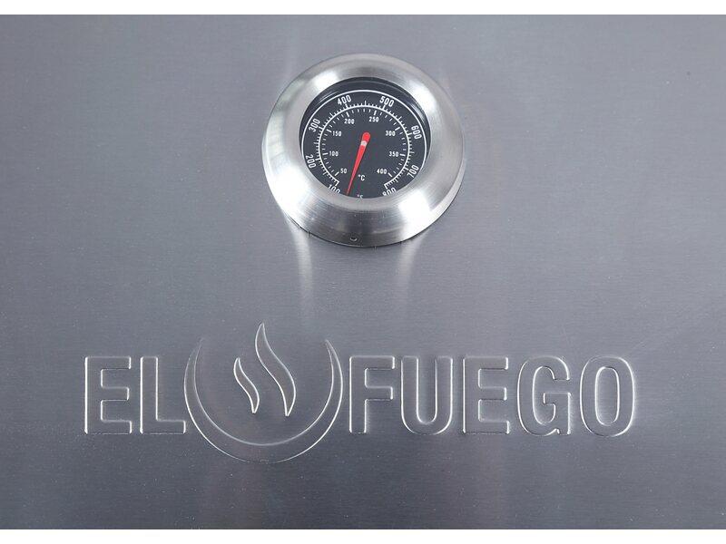 Enders Gasgrill Chicago 3 Obi : El fuego gasgrill rochester brenner silber mit unterschrank