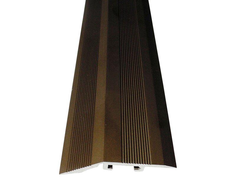 ausgleichsprofil mit einschlagd bel 40 mm x 10 mm bronze 900 mm kaufen bei obi. Black Bedroom Furniture Sets. Home Design Ideas